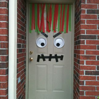 Monster party door created by me :)