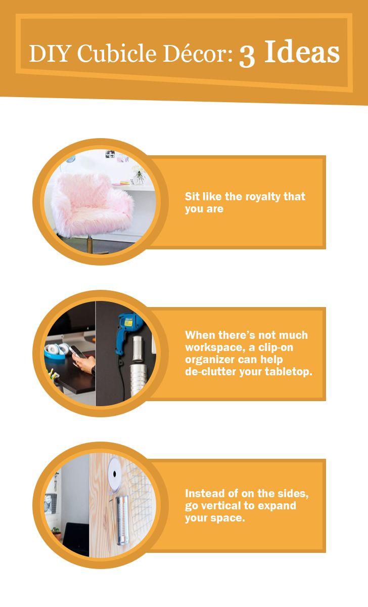 7 Creative DIY Cubicle Decor Ideas #DIY_Cubicle_Decor | OFFICE DECOR ...