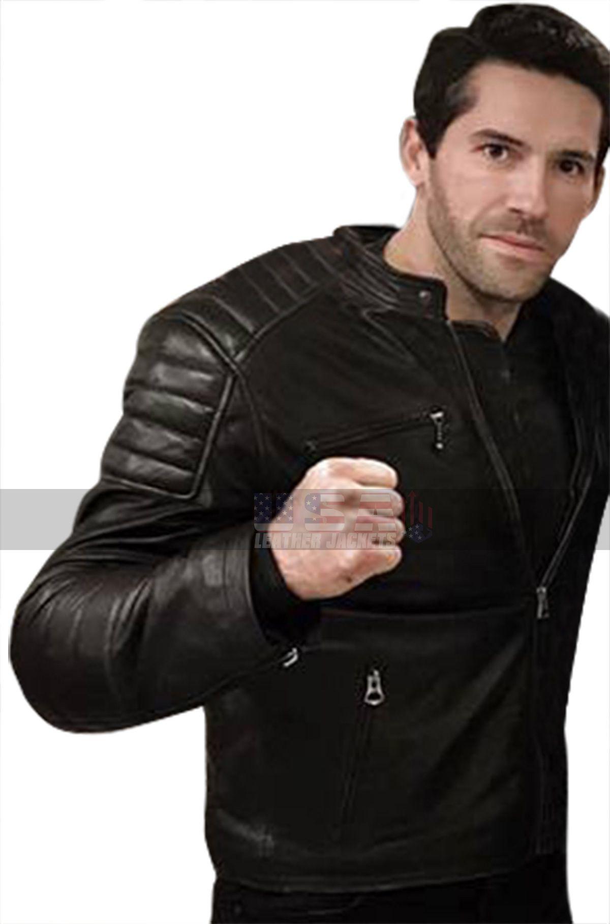 Accident Man Jacket Scott Adkins Jacket Mike Fallon Jacket Motorcycle Jacket Quilted Jacket Black Jacket L Scott Adkins Leather Jacket Celebrity Jackets [ 1816 x 1200 Pixel ]