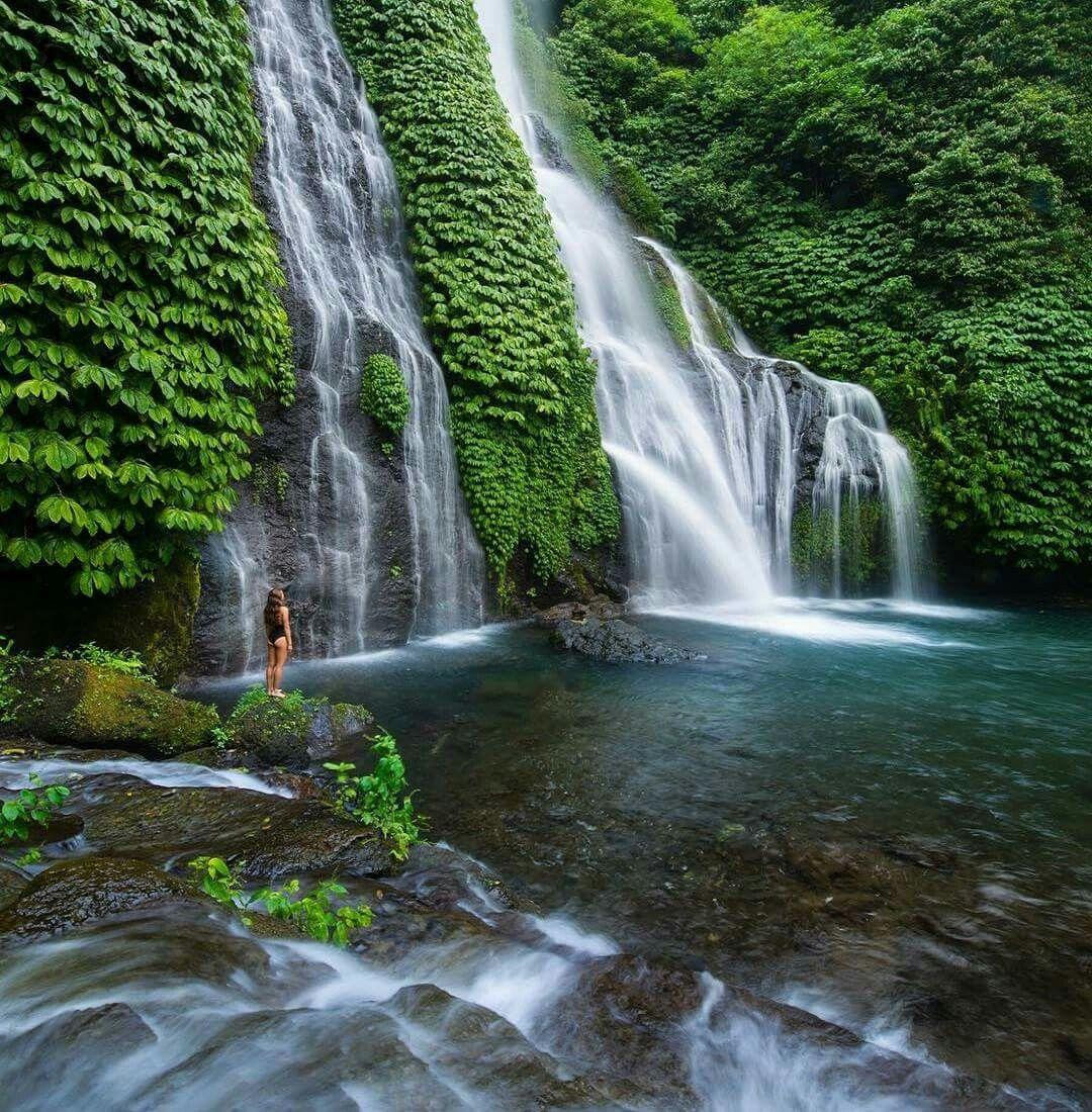 Waterfall, Waterfall Photo, Bali Travel