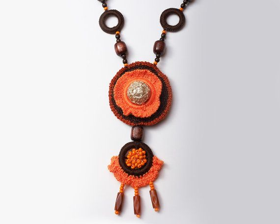 Bohemian chic handmade necklace for stylish woman door TOP1234
