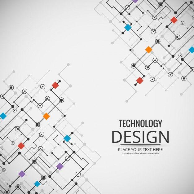 fundo a tecnologia moderna Pinterest Icons, Logos and Brochures