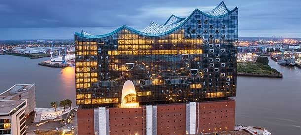 Elbphilharmonie Hamburg Hamburg Hamburg Tourismus Pool Terrasse
