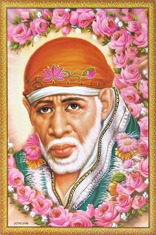 Shirdi Sai Baba Poster Sai baba, Om sai ram, Sai ram