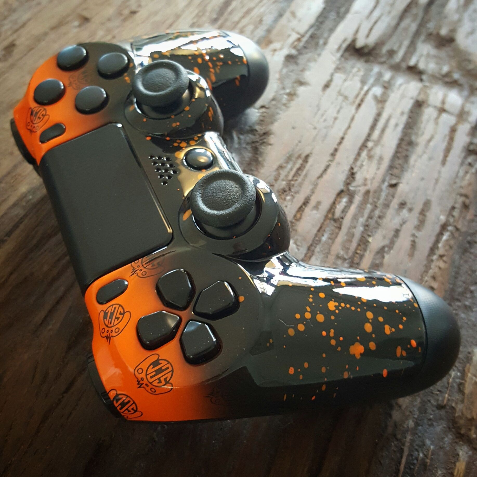 PS4 controller with custom ScC design and Shock buttons!