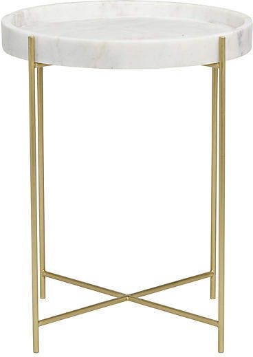 Chuy Side Table Brass Noir Brass Side Table Contemporary
