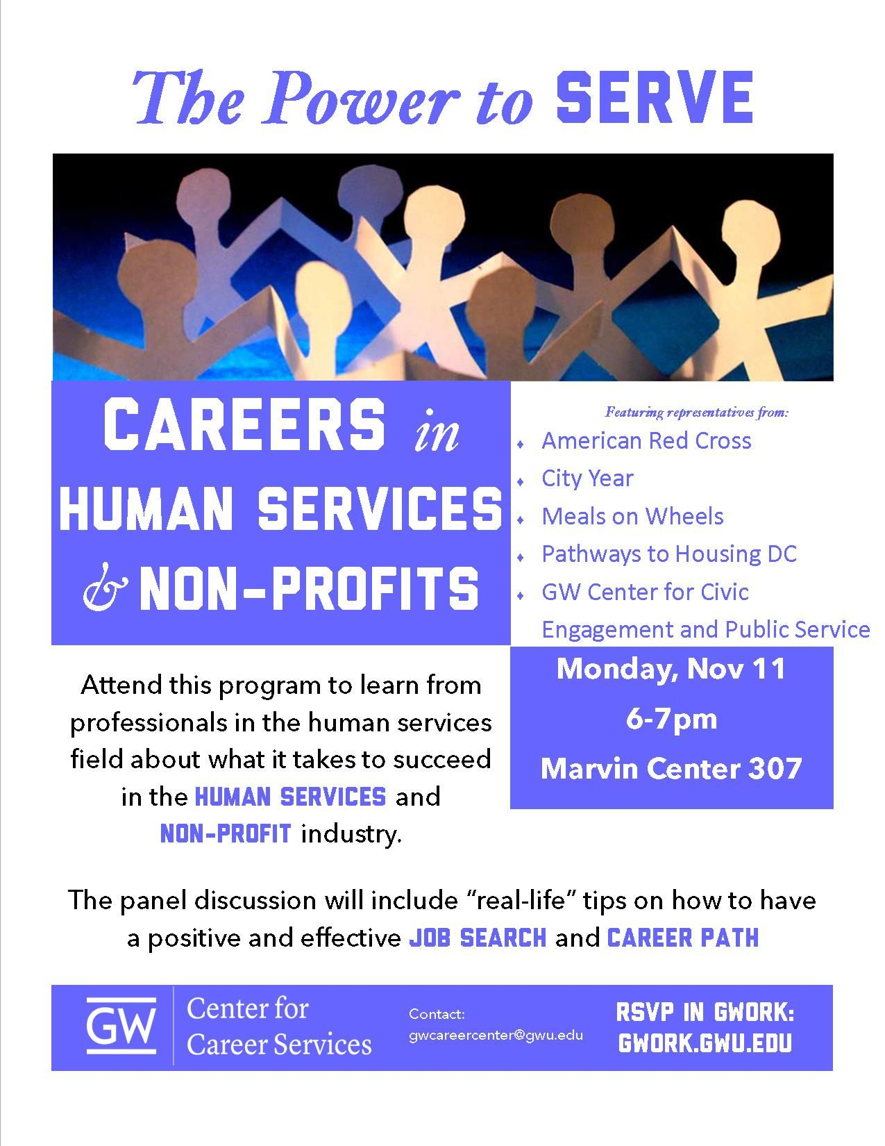 Human Services & NonProfits Human services, Service jobs