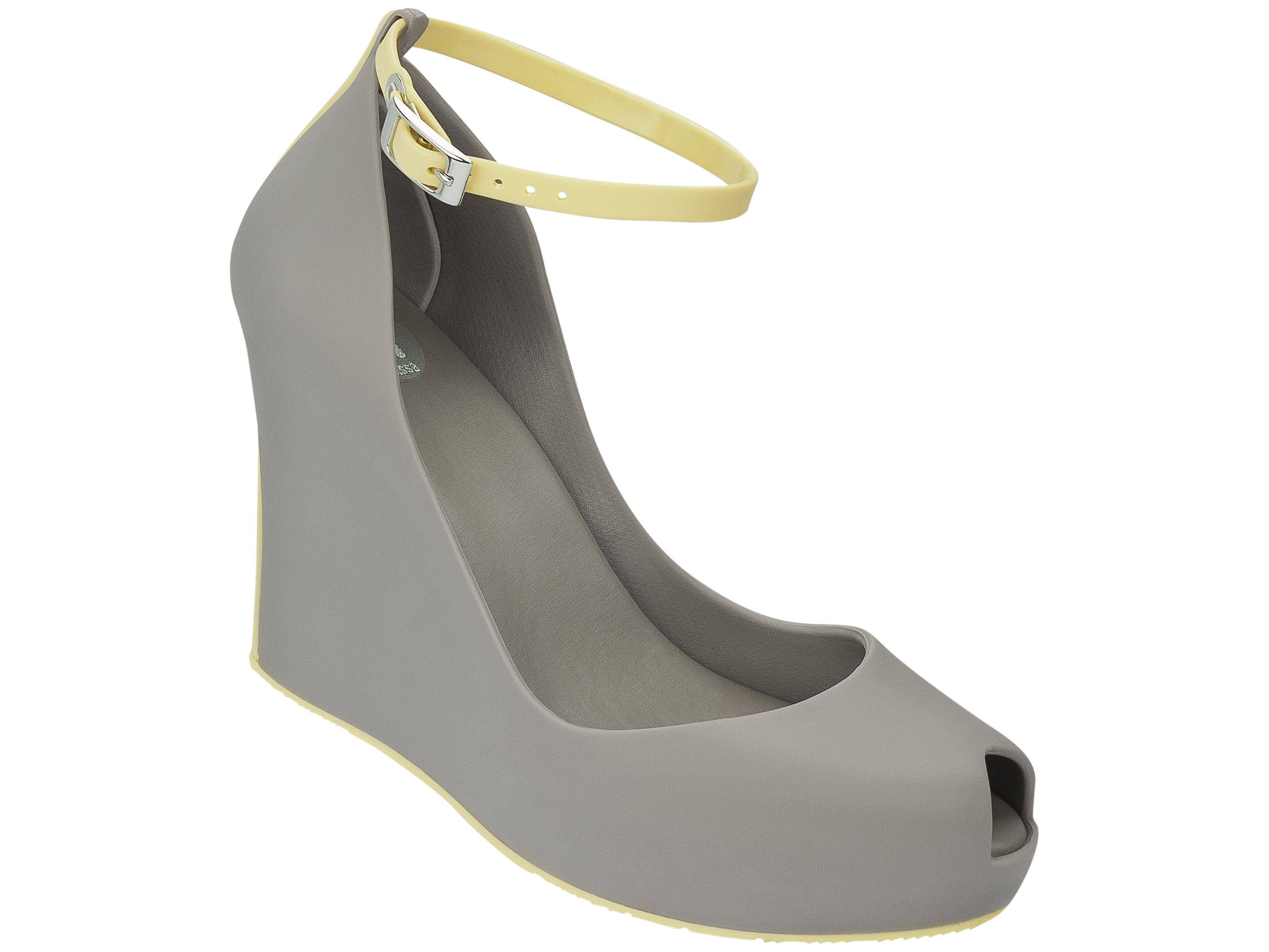 Patchouli - grey/yellow from Melissa Shoes at :: convert style :: women's,  men's and kids socially conscious apparel, accessories & shoes