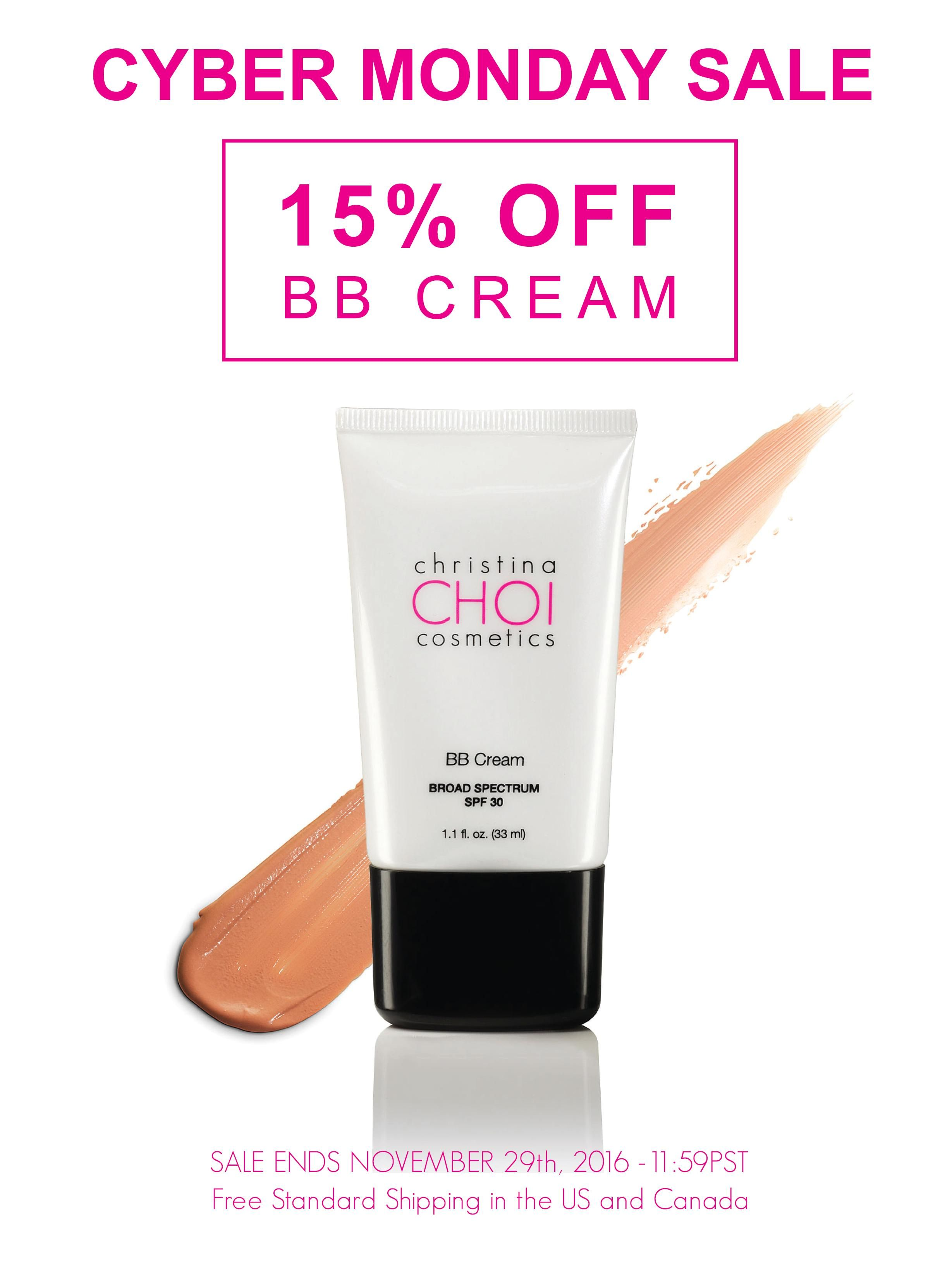 ChristinaChoiCosmetics CyberMonday sale is on! Our