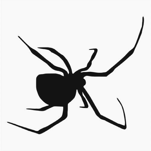 Poisonous Spider Clip Art   Halloween Silhouettes   Pinterest ...