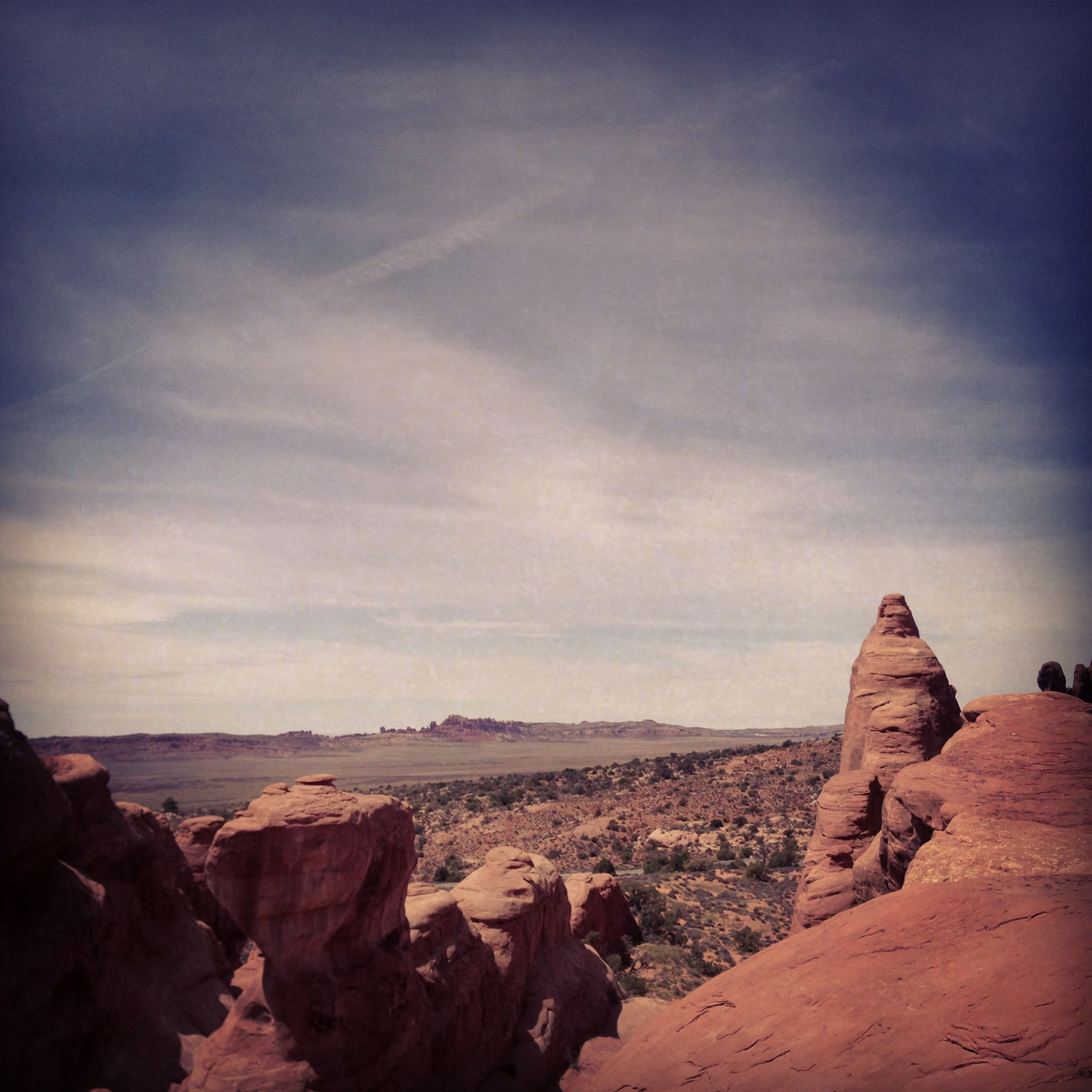 View Down The Valley From Devils Garden Campground Moab Ut 400 x 300