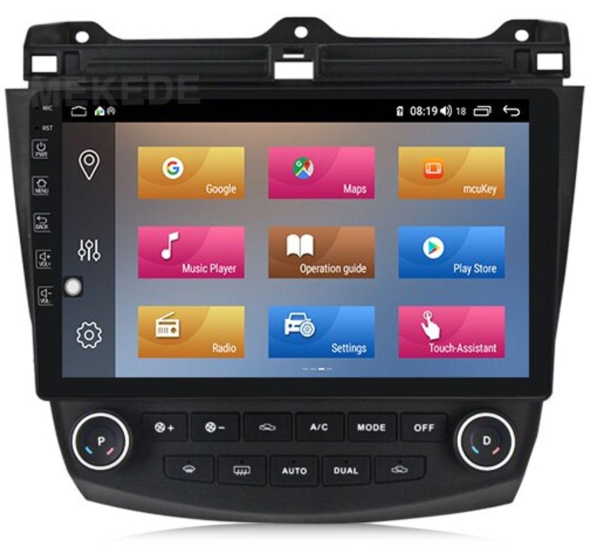 Radio Nawigacja Honda Accord 7 Android 9 0 Kam Dsp Honda Accord Car Chevrolet Honda