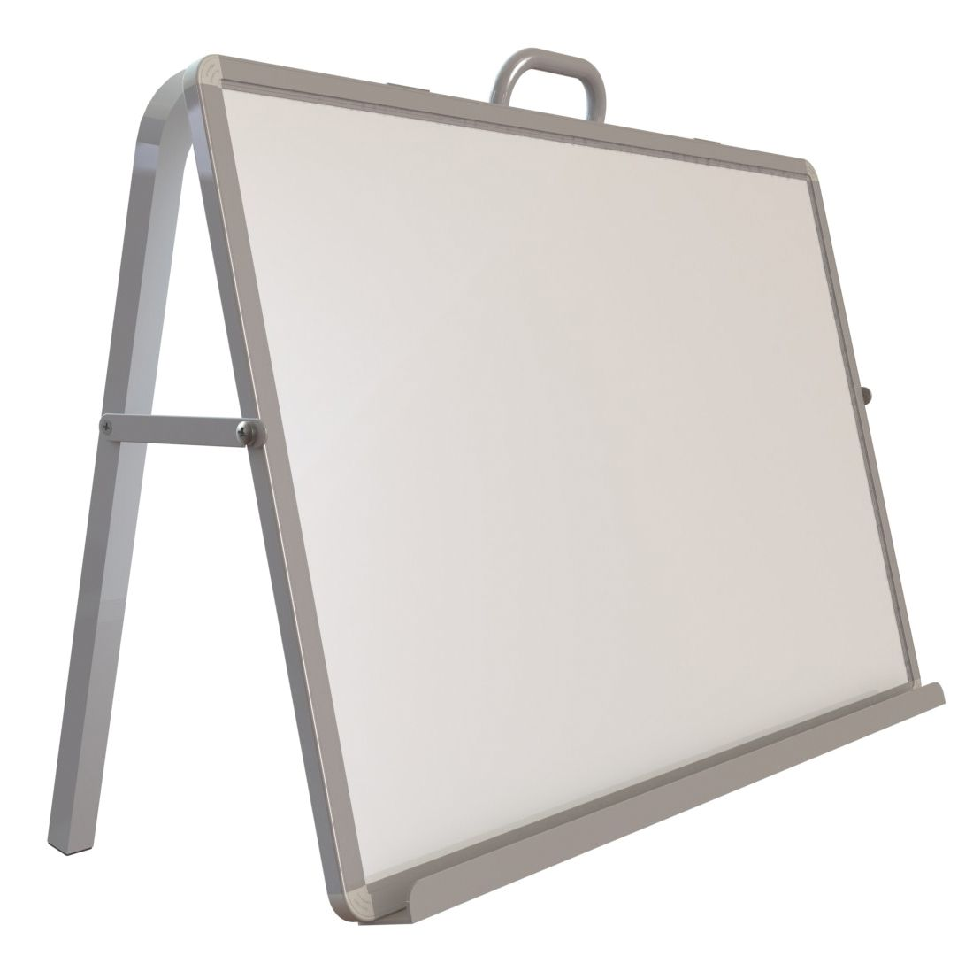read n write desktop easel a desktop easel with single sided whiteboard available with - Whiteboard Easel