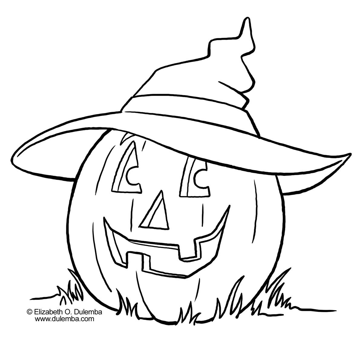 Pumpkin Pictures To Color And Print