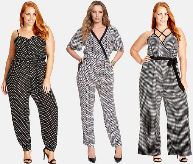 6327843630e Shapely Chic Sheri 15 Plus-Size Jumpsuits for Spring Summer