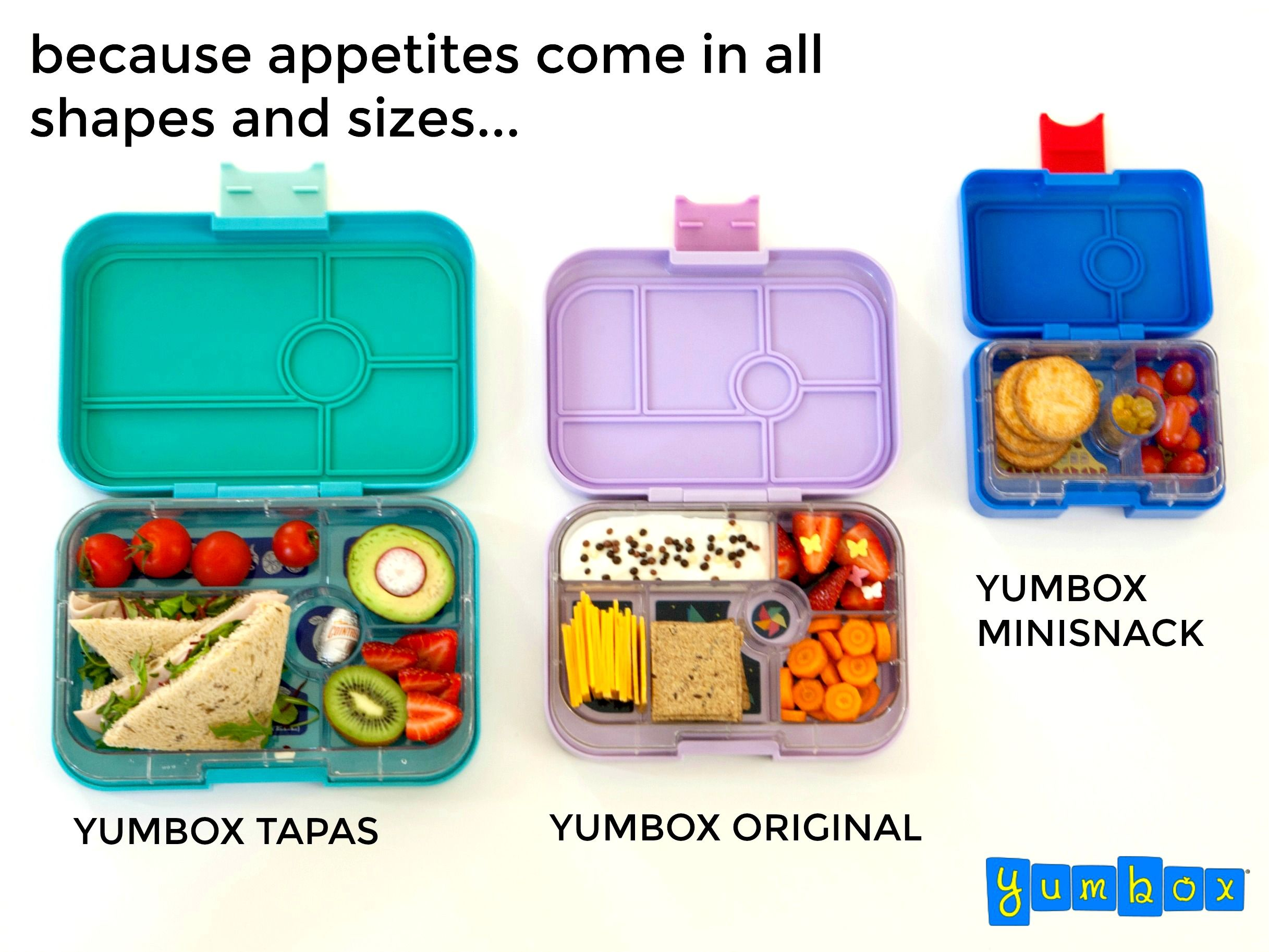 Yumbox Ideen Kindergarten Yumbox Lunch Ideas Kids Bento Because Appetites Come In All Shapes And Sizes Introducing Our