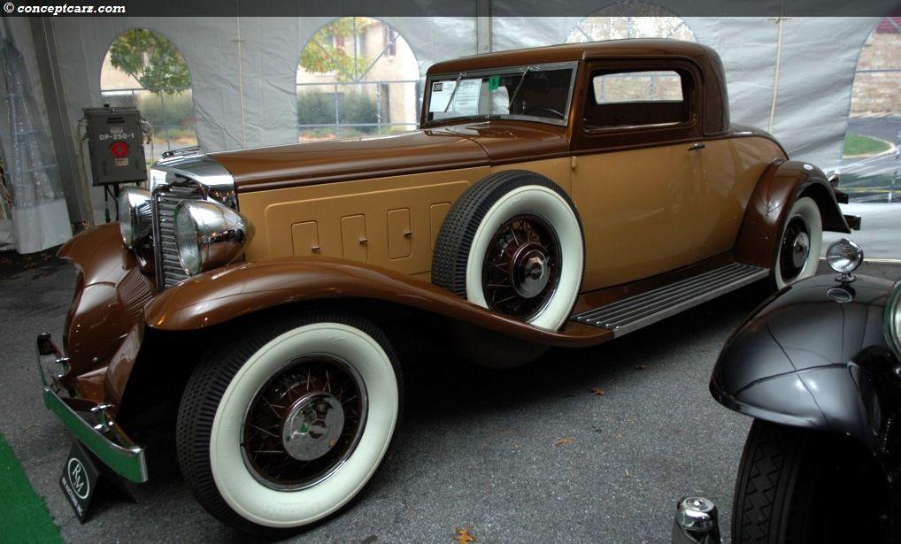 Marmon Sixteen At The Vintage Motor Cars At Hershey Vintage