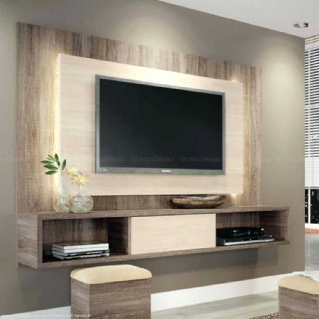 35 Amazing Wall Tv Cabinet Designs For