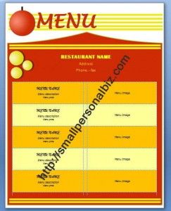 free design for chinese restaurant menu template in ms word free