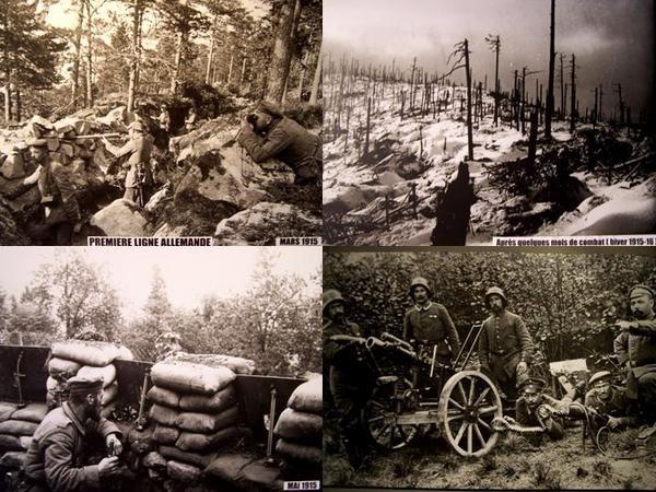 le linge vosges champ de bataille 1914 1918 champs and wwi. Black Bedroom Furniture Sets. Home Design Ideas