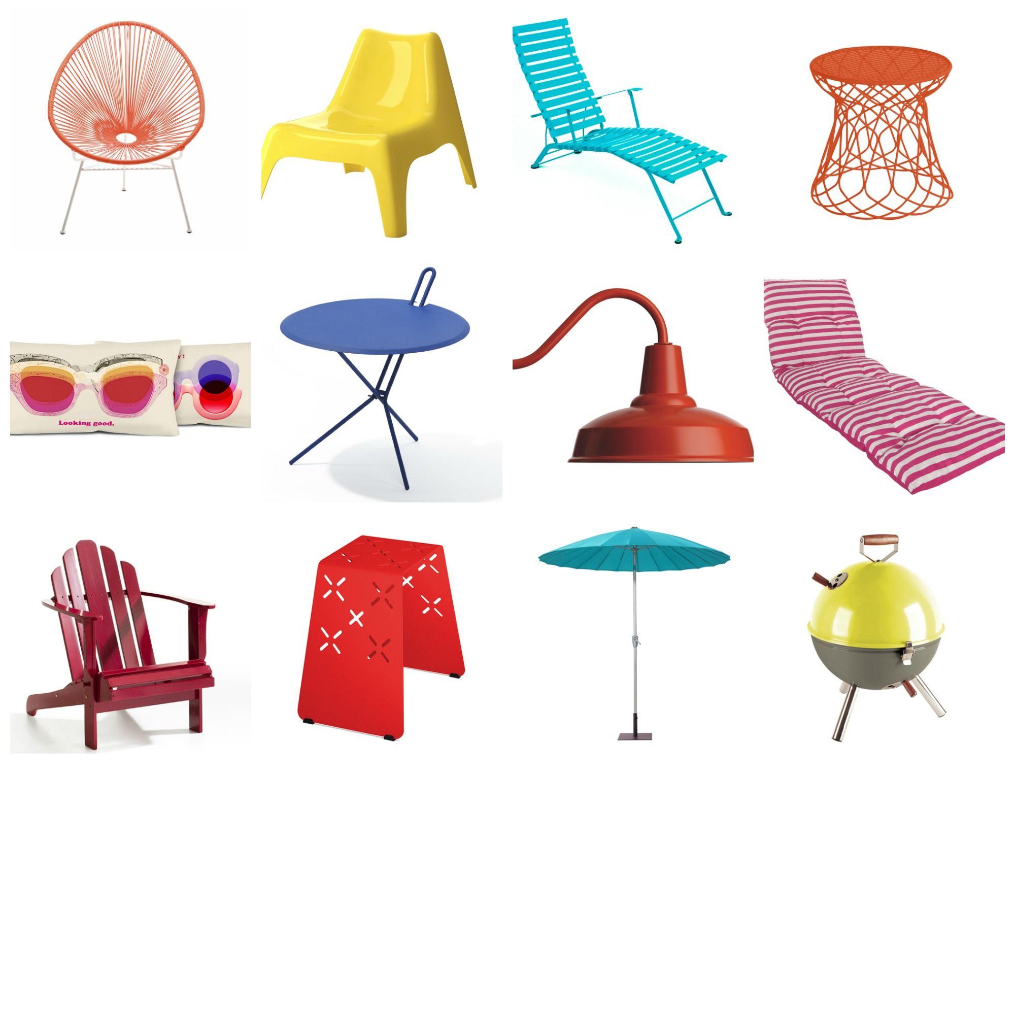 Les beaux jours vont vite arriver et il vous faudra alors renouveler votre mobilier de jardin....
