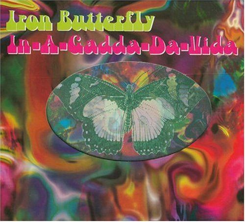 Image result for iron butterfly album cover in da
