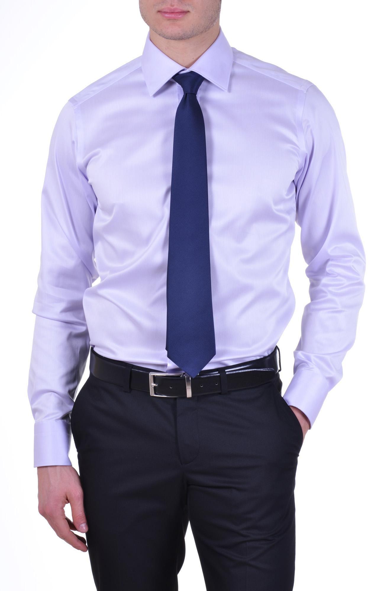 483e444e63e5 camisa lila cirbata azul - Buscar con Google Camisa Azul Con Corbata, Camisas  Hombre Vestir