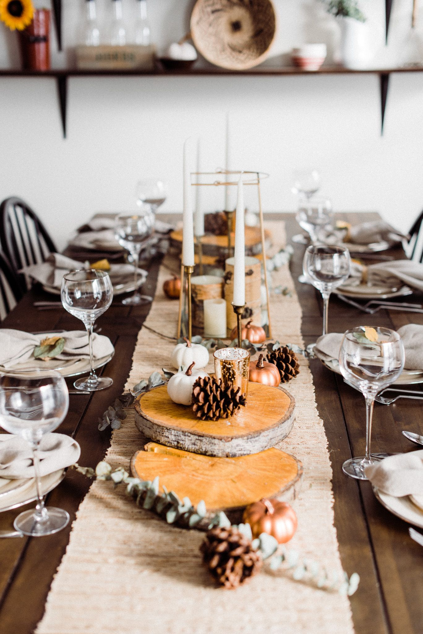 Thanksgiving Table Decor Ideas 4 Inspiring Tips For Any Style Thanksgiving Dinner Table Setting Rustic Thanksgiving Rustic Thanksgiving Table