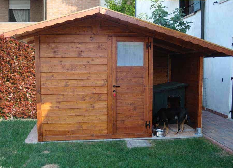 Casetta da giardino con tettoia laterale da 1.50 Casette