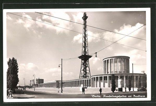 Pin auf Funkturm Berlin