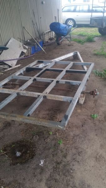 Selling motorbike or box trailer frame I was making a Motorbike ...
