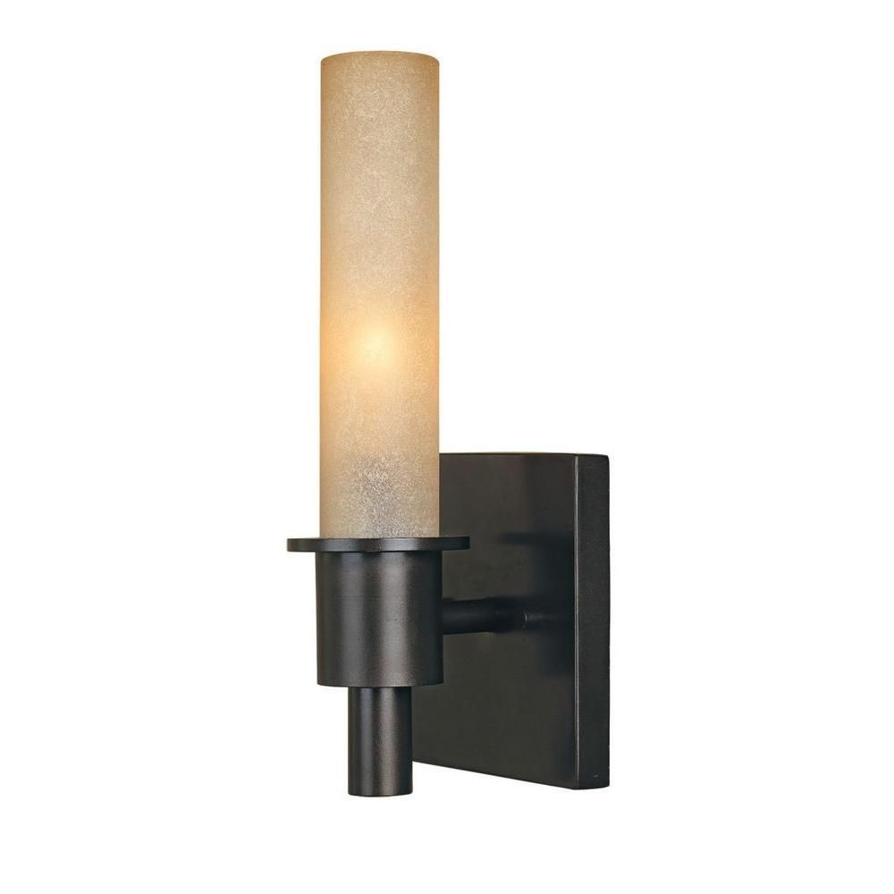 World Imports Dunwoody 1 Light Oil Rubbed Bronze Wall Sconce Wi782188 The Home