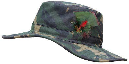 Mens Aussie Sun Hat Fishing Hunting Walking Shooting 100 % Wax Cotton S-XXL 52e42032b2de