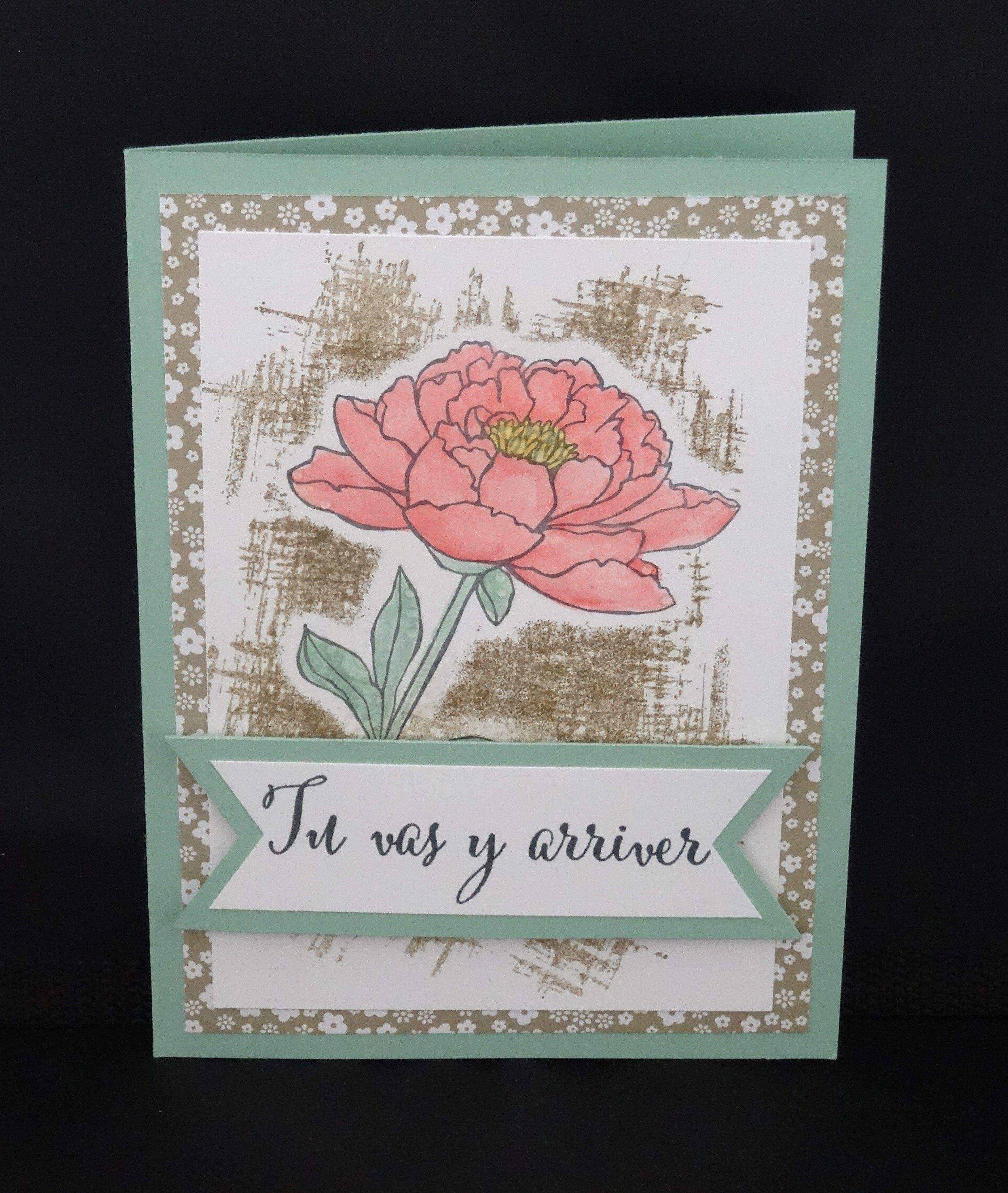 Carte Stampin Up.Carte Stampin Up Tiens Bon In Color 2015 2016 Cards