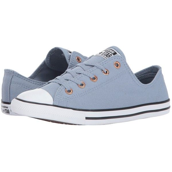 Converse Chuck Taylor All Star Dainty - Ox (Blue Slate/White/Gold)