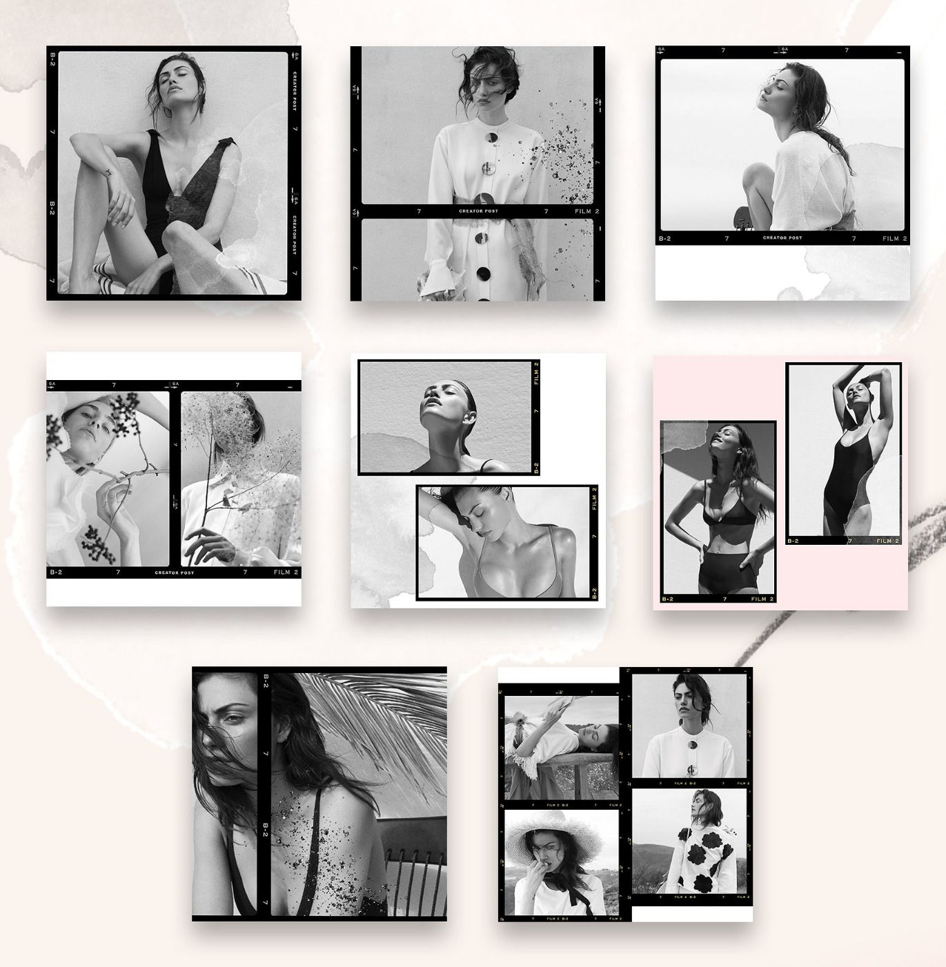 Creator Post for Instagram Kristina&Co templates