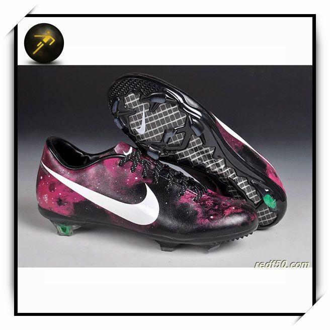 23649b56376c You can get Fenta Football Shoes Nike Mercurial Vapor IX FG CR7 Galaxy  Exclusive Red Custom Colors for 100uthentic