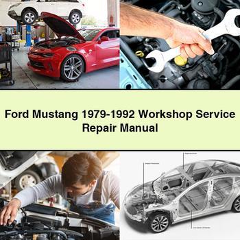 Ford Mustang 1979 1992 Workshop Service Repair Manual Pdf Download Repair Manuals Ford Expedition Repair