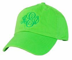 4a1da635204 Alpha Epsilon Phi Monogrammed Greek Hat - Greek Gear®