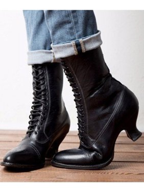 pinstacy theresa on walmart  low heel boots lace