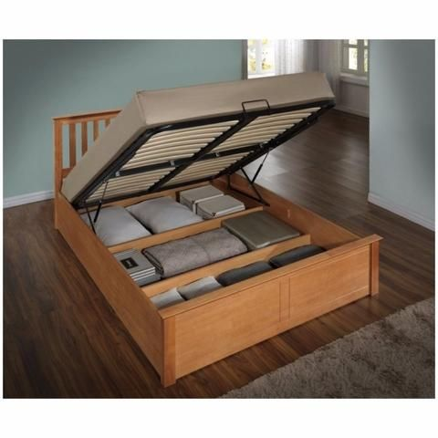Phoenix Oak Wooden Ottoman Bed Small Double For Only At Furniture Choice Free Standard Delivery Finance Options Available