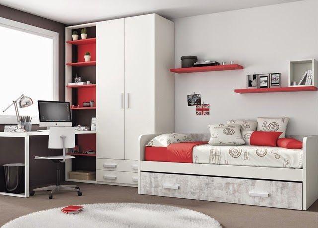 Dormitorios juveniles habitaciones infantiles y mueble - Habitaciones pequenas ikea ...