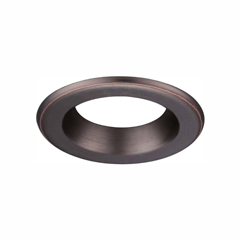Envirolite 4 In Decorative Bronze Trim Ring For Led Recessed Light With Trim Ring In 2019 Products Commercial Electric Electric 6 Office Ceiling