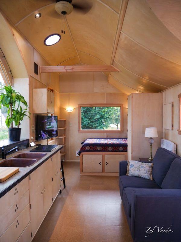 The Damselfly House Zyl Vardos Tiny House on Wheels For Sale (Sold