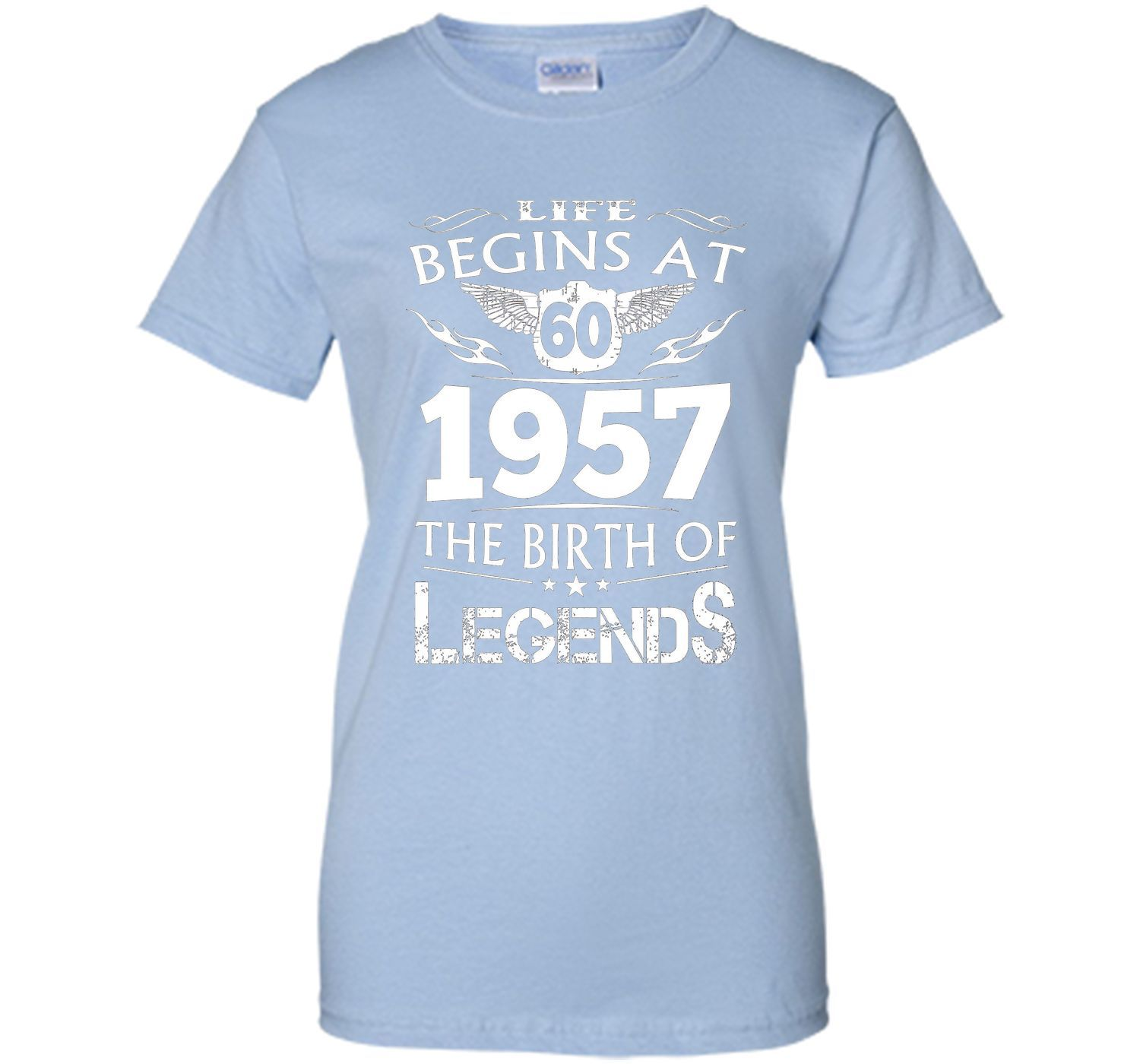 Life Begins At 60 1957 The Birth Of Legends T-Shirt t-shirt