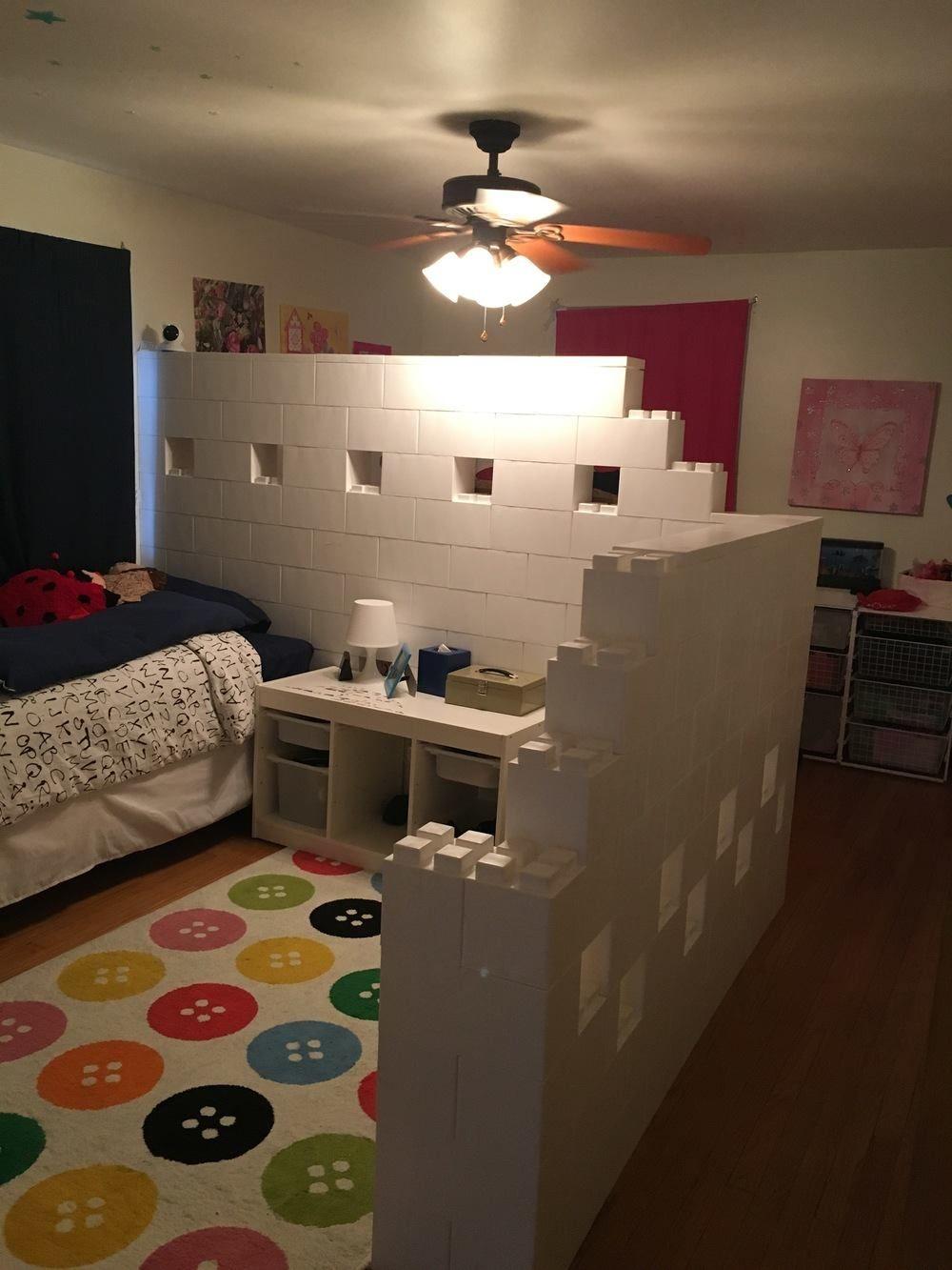 Modular dividing walls and spaces everblock room dividers