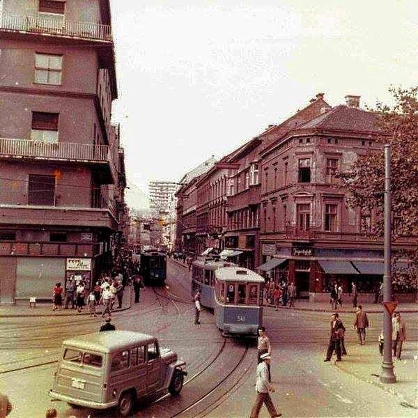 Zagreb 1957 Jurisiceva Draskoviceva Zagreb Croatia Zagreb Croatia