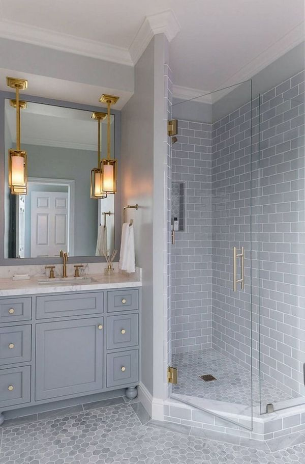 In Modern And Older Homes Bathrooms Are Often Small And Cramped But You Don T Need To Le Bathroom Remodel Master Small Master Bathroom Small Bathroom Remodel
