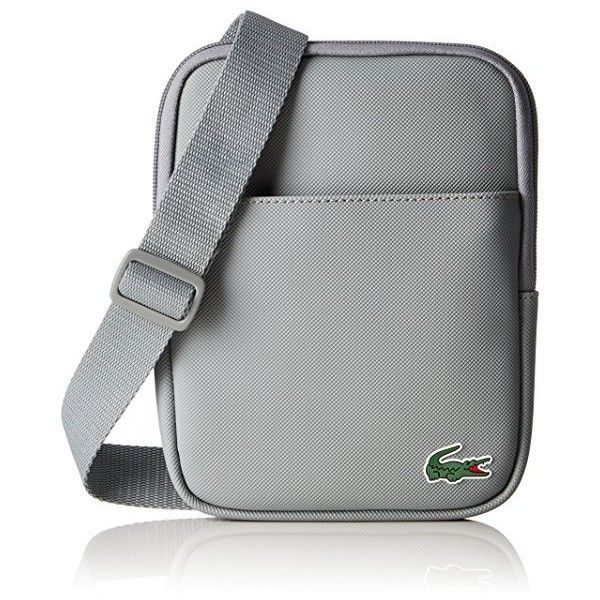 03e2d883 Lacoste Men's NH2020PO Cross-Body Bag, Griffin (Griffin), 21 x 3 x ...