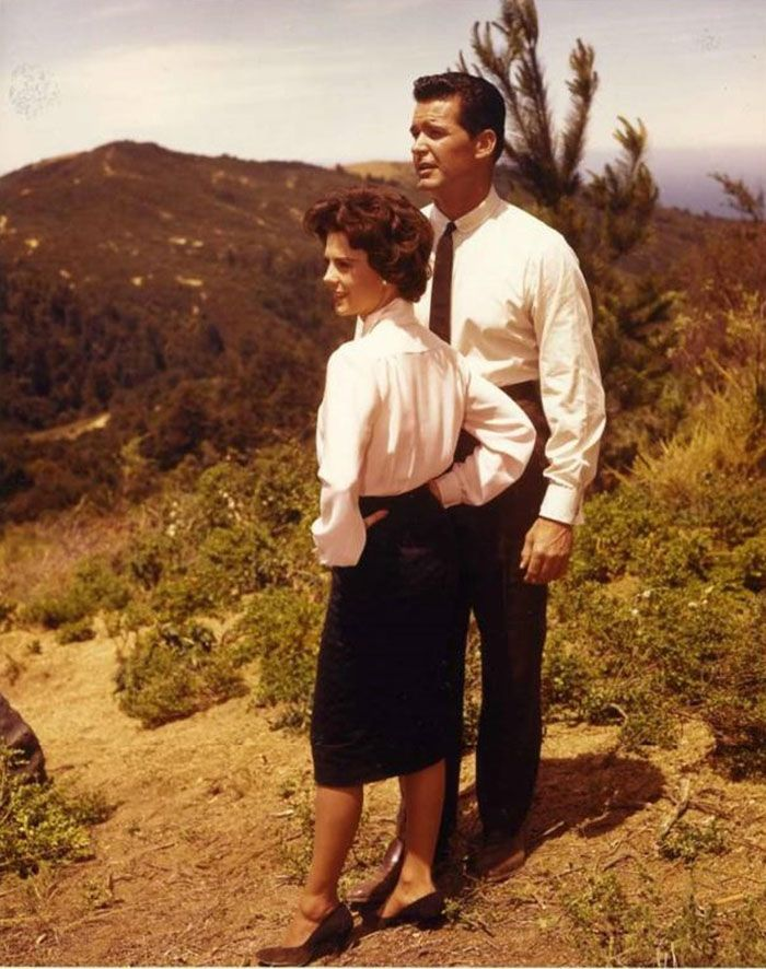 "James Garner y Natalie Wood en ""El Potentado"" (Cash McCall), 1960"